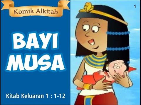 Bayi Musa Slide Cerita Komik Alkitab Anak Sekolah Minggu Kristen Youtube