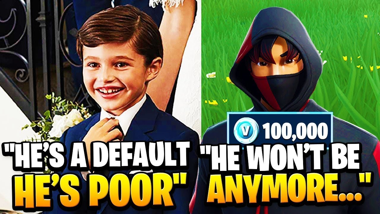 I Met These RICH KIDS Who Made Fun Of A DEFAULT, So I Did This... (Fortnite)
