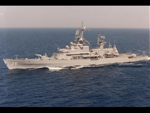 USS BELKNAP CG 26 - US NAVY - Life on board a warship