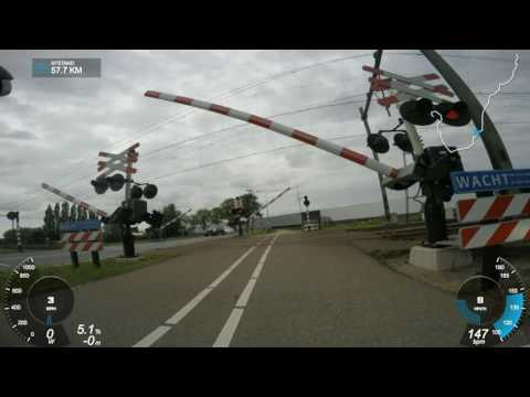 The Hague - Rotterdam - Amsterdam by road bike
