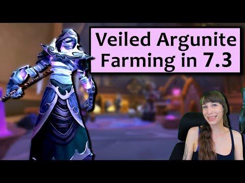 Veiled Argunite Farming in 7.3