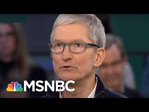 Apple CEO Tim Cook Slams Facebook's Mark Zuckerberg: I Wouldn't Be In This Situation   MSNBC