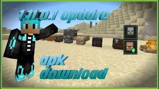 Gambar cover NEW Minecraft 1.11.0.1 BETA UPDATE! (APK DOWNLOAD)