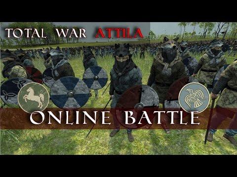 MmmmmmDat Chain Rout Tho | Westphalia vs Danes | Total War Attila Charlemagne DLC |