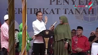 Momen Lucu Warga Aceh Salah Sebut Nama Ikan di depan Presiden Jokowi