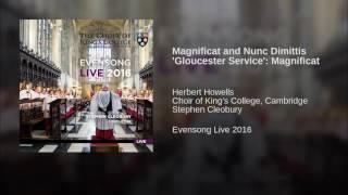 Magnificat and Nunc Dimittis 'Gloucester Service': Magnificat