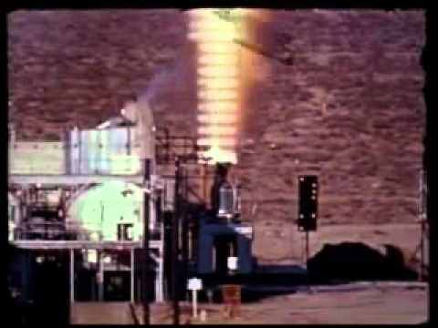 NASA Project ROVER NERVA Nuclear Rocket Engine testing @ Jackass Flats