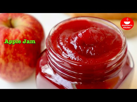 | Market Style Apple Jam | How to make jam at Home