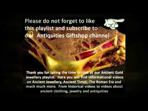 Authentic Ancient Gold Jewelry Antiquities Giftshop