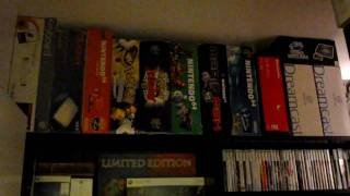 my video game collection new room tour