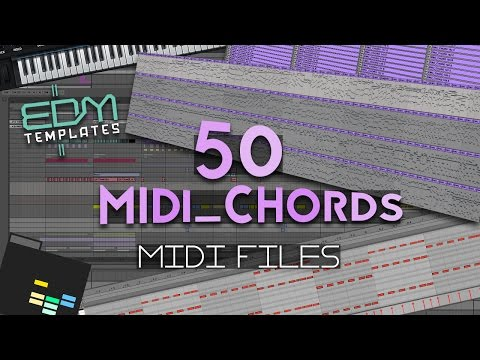 50 Royalty Free Midi Chords - FREE DOWNLOAD + Ableton Project File