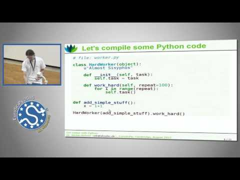 Image from Get Native with Cython