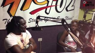 Hot 102 FM Hot Boxx Interview with T-Nez