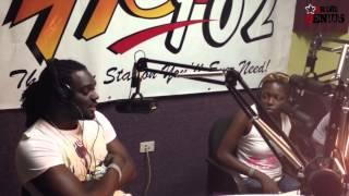 Hot 102 FM Hot Boxx Interview with T-Nez