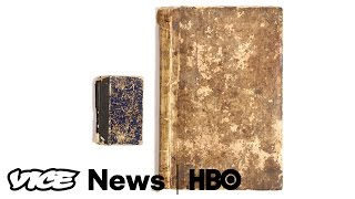 Art Historians Can't Agree If This Sketchbook Belonged To Van Gogh  VICE News Tonight on HBO