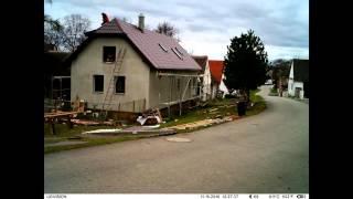 Jak se dělá střecha - fotosběr