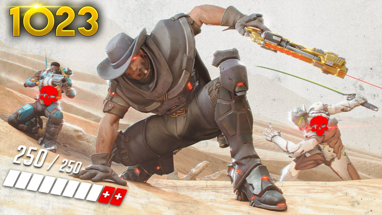 This *NEW* McCree IS UNREAL!!    Overwatch Daily Moments Ep.1023 (Funny and Random Moments) thumbnail