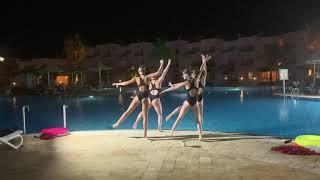Отдых в отеле Лабранда Клаб Макади Незабываемое шоу в бассейне Египет 2021