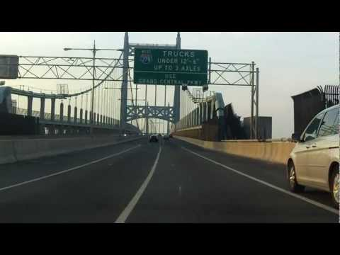 Robert F. Kennedy (Triborough) Bridge eastbound (Manhattan to Queens)