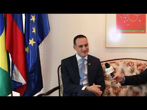 Entrevista com EMBAIXADOR DA ESLOVÊNIA