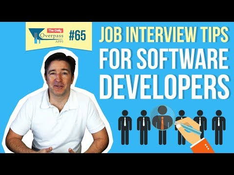 Job Interview Tips For Software Developers