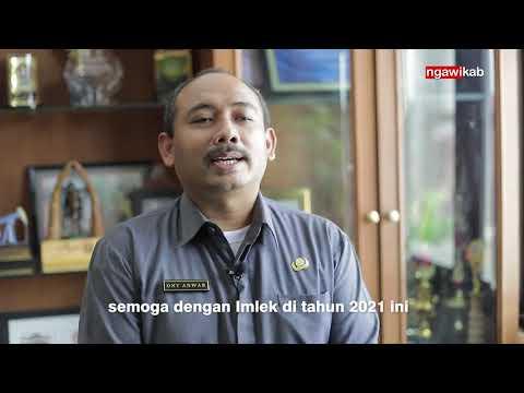 Wakil Bupati Ngawi Ony Anwar Mengucapkan Selamat Tahun Baru Imlek 2021