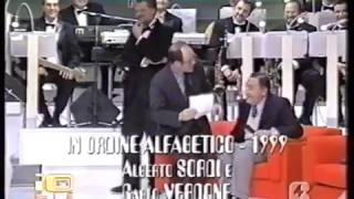 Carlo Verdone e Alberto Sordi...l'intervista al Maurizio Costanzo Show
