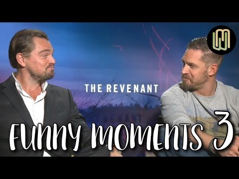 Tom Hardy's Funny Moments PART 3