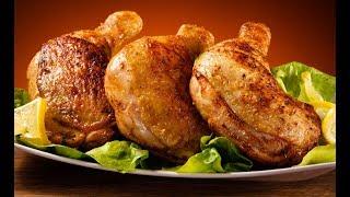 Курица запеченная в майонезе (рецепт)