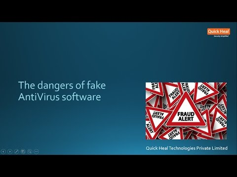The dangers of fake AntiVirus software