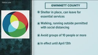 DeKalb, Gwinnett issue shelter-in-place orders