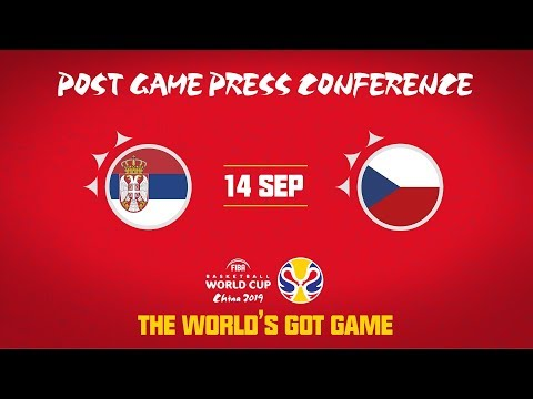 Serbia v Czech Republic - Press Conference