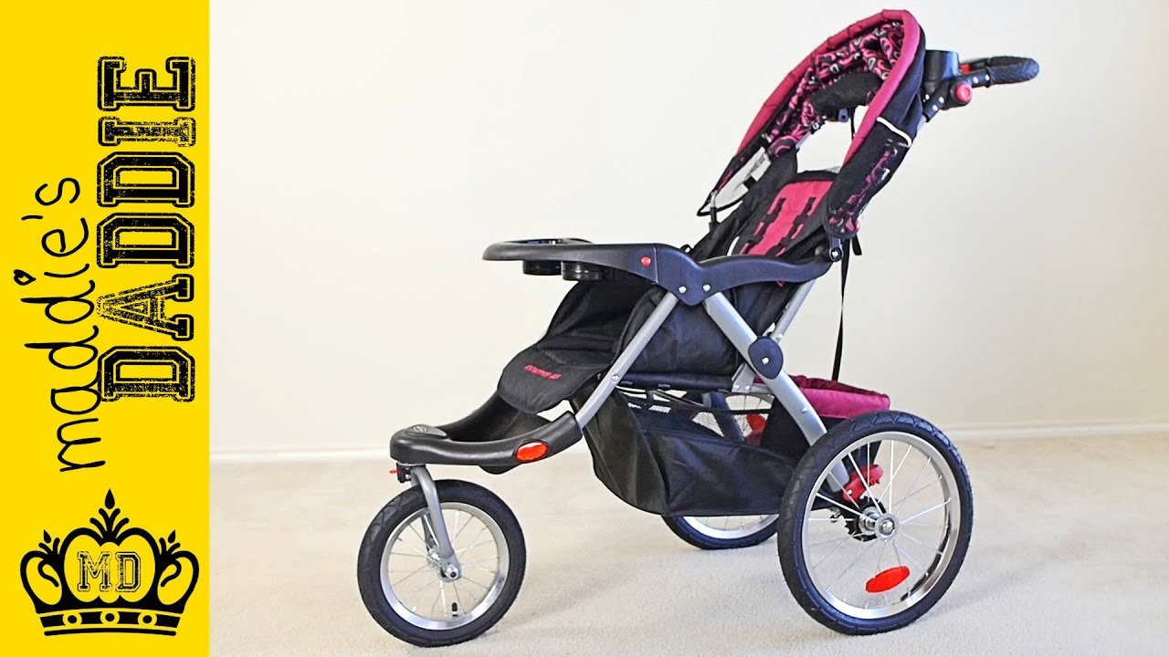 Baby Trend Expedition ELX Jogging Stroller Review - YouTube