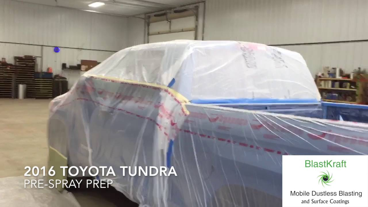 2016 Toyota Tundra Vortex Bed Liner