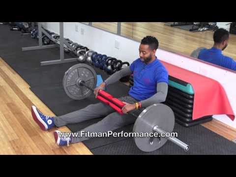 Fitman Presents Build Great Glutes Barbell Hip Thrust Set