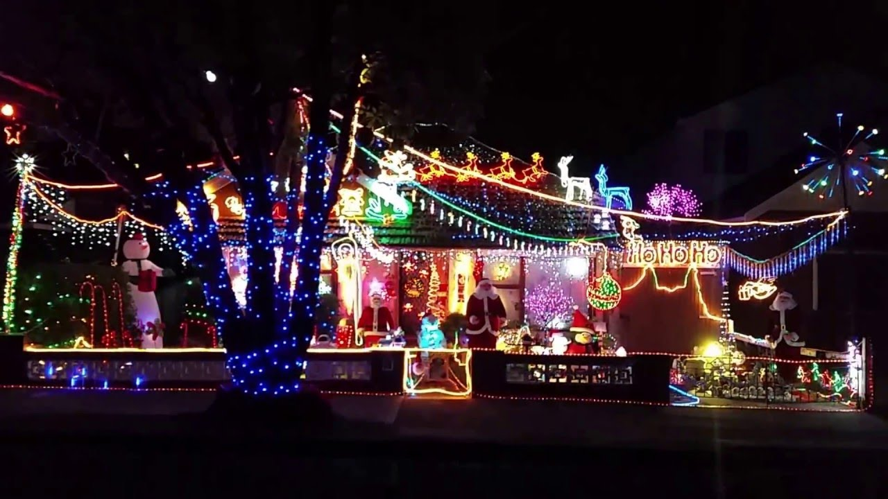 Christmas Light Display Quakers Hill