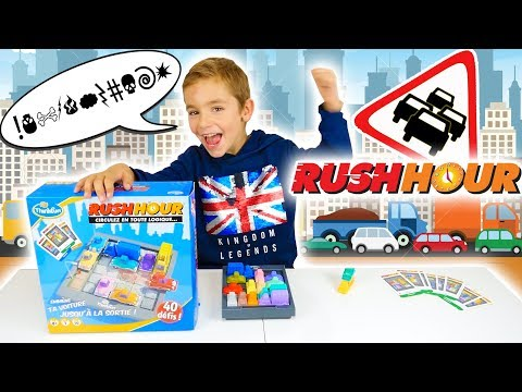 JEU - RUSH HOUR - Coincés dans les Embouteillages ! 🚗 - Jeu de société