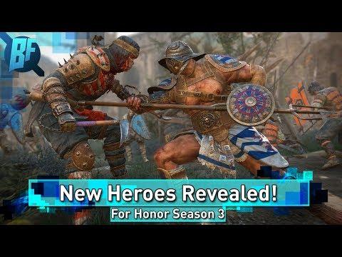 For Honor Season 3: New Heroes Revealed!