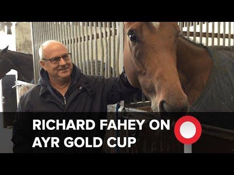 Richard Fahey on Ayr Gold Cup hopes