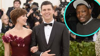 Scarlett Johansson and Colin Jost Get Pranked By 'SNL' Co-Star During Birthday Dinner