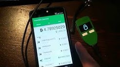 GreenBits early preview - Android Bitcoin Wallet login via Trezor