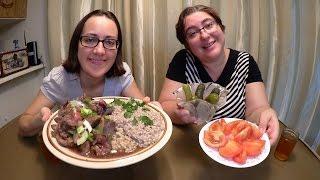Nostalgic Russian Dinner From Our Childhood | Gay Family Mukbang (먹방) - Eating Show