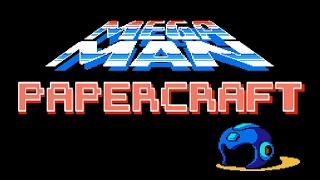 Papercraft Mega Man (poseable)