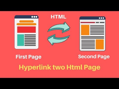 How To Link One Page To Another Page In HTML