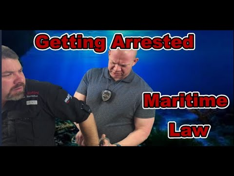 Getting Arrested For Underwater Treasure Hunting: Maritime Laws