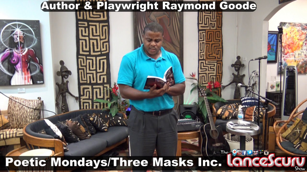 Author & Playwright Raymond Goode Has A Profound Story To Share At Three Masks Inc.