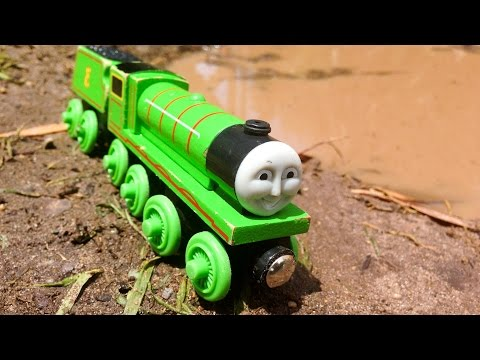 Henry Vs The Mud Pit  Thomas & Friends Wooden Railway