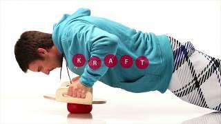 Produktvideo zu Gleichgewichtstrainer mit einem Ball Togu Balanza