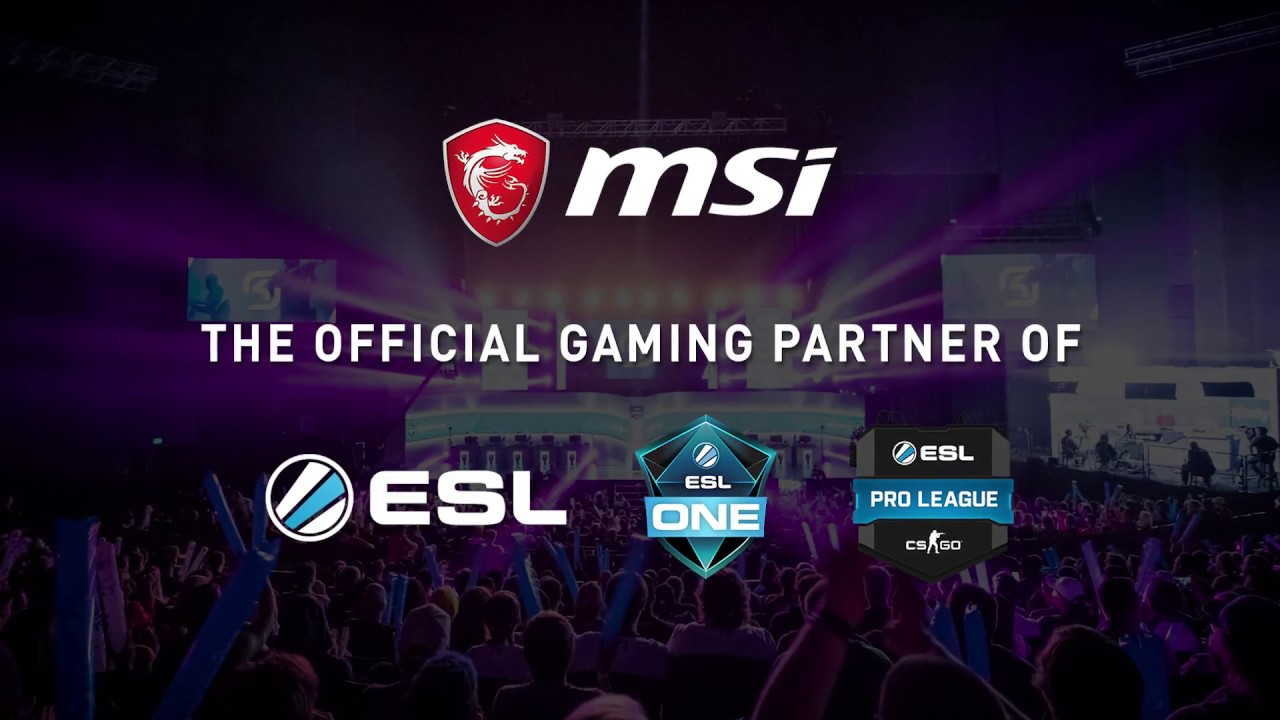ESL Pro League 2018 Commercial | MSI