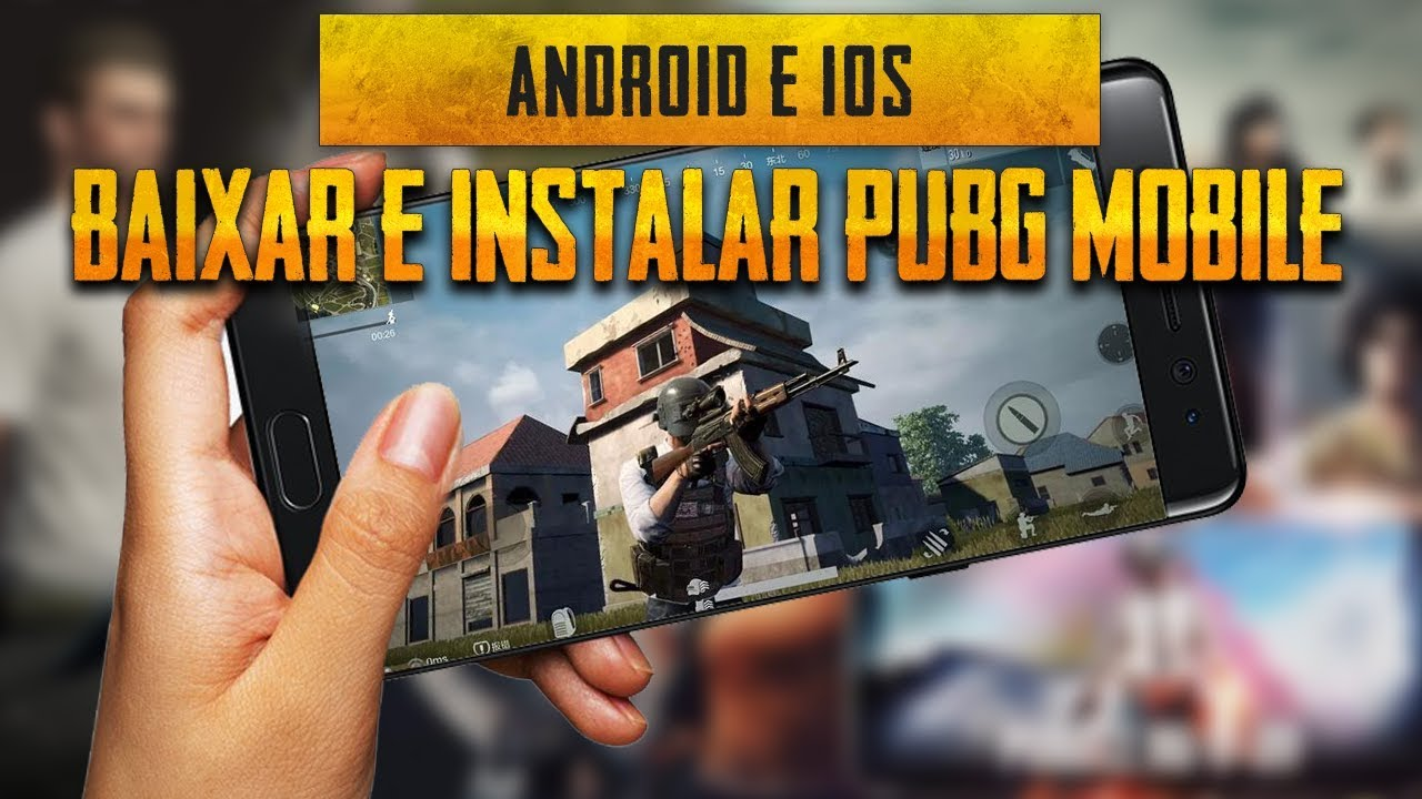 Como baixar e instalar Pubg Mobile ( Android & IOS ) - Battleground mobile